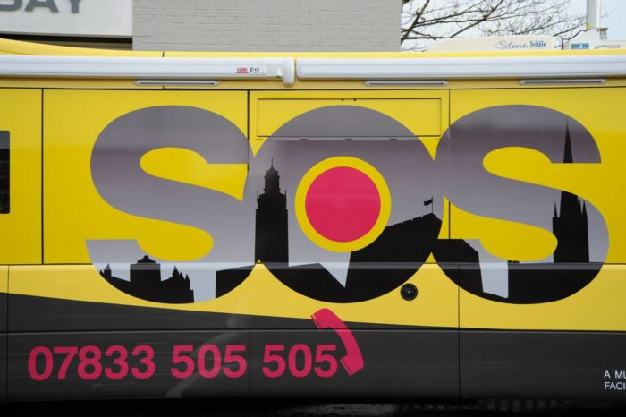 New road ahead for Norwich's SOS Bus with Voluntary Norfolk